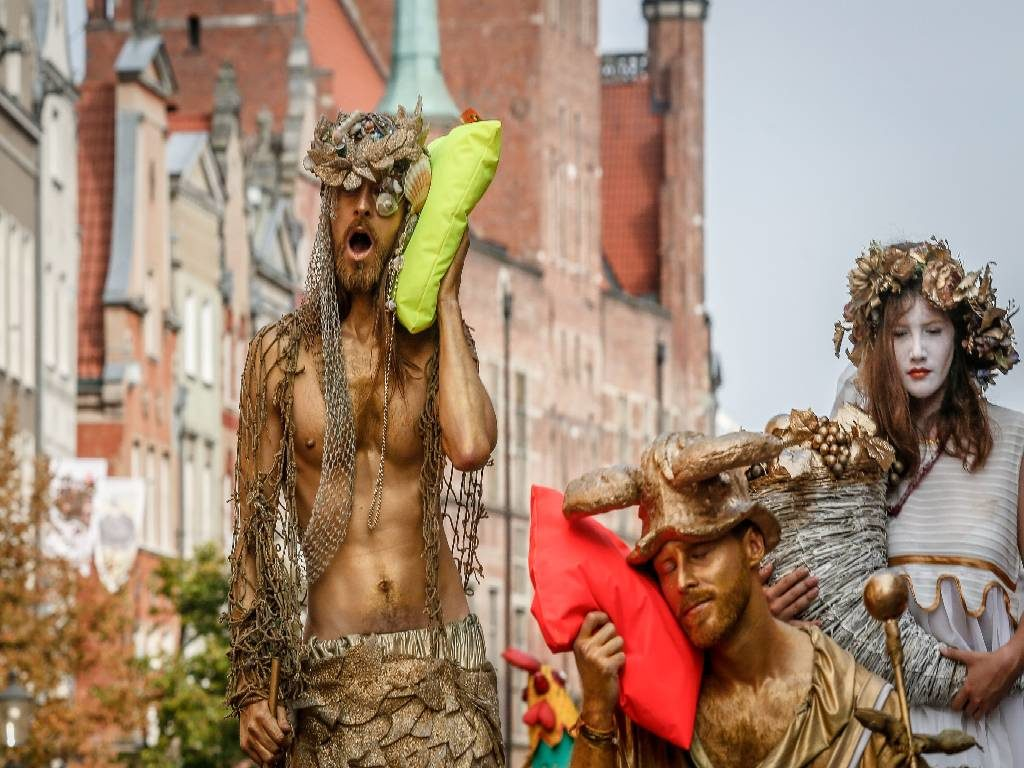 Gdansk street artists
