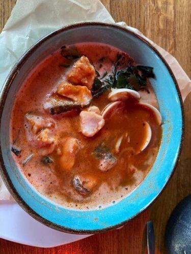 fish soup in bulaj