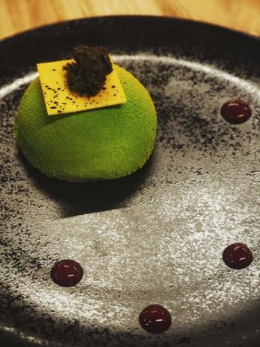 green dessert chmielna