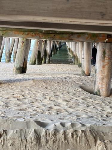 sopot wooden bridge